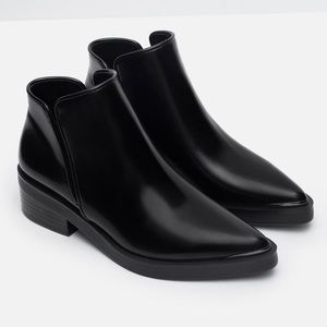 ZARA ANKLE BOOTS 🖤